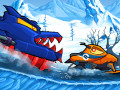 Juegos Car Eats Car: Winter Adventure