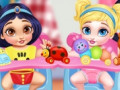 Juegos Messy Baby Princess Cleanup